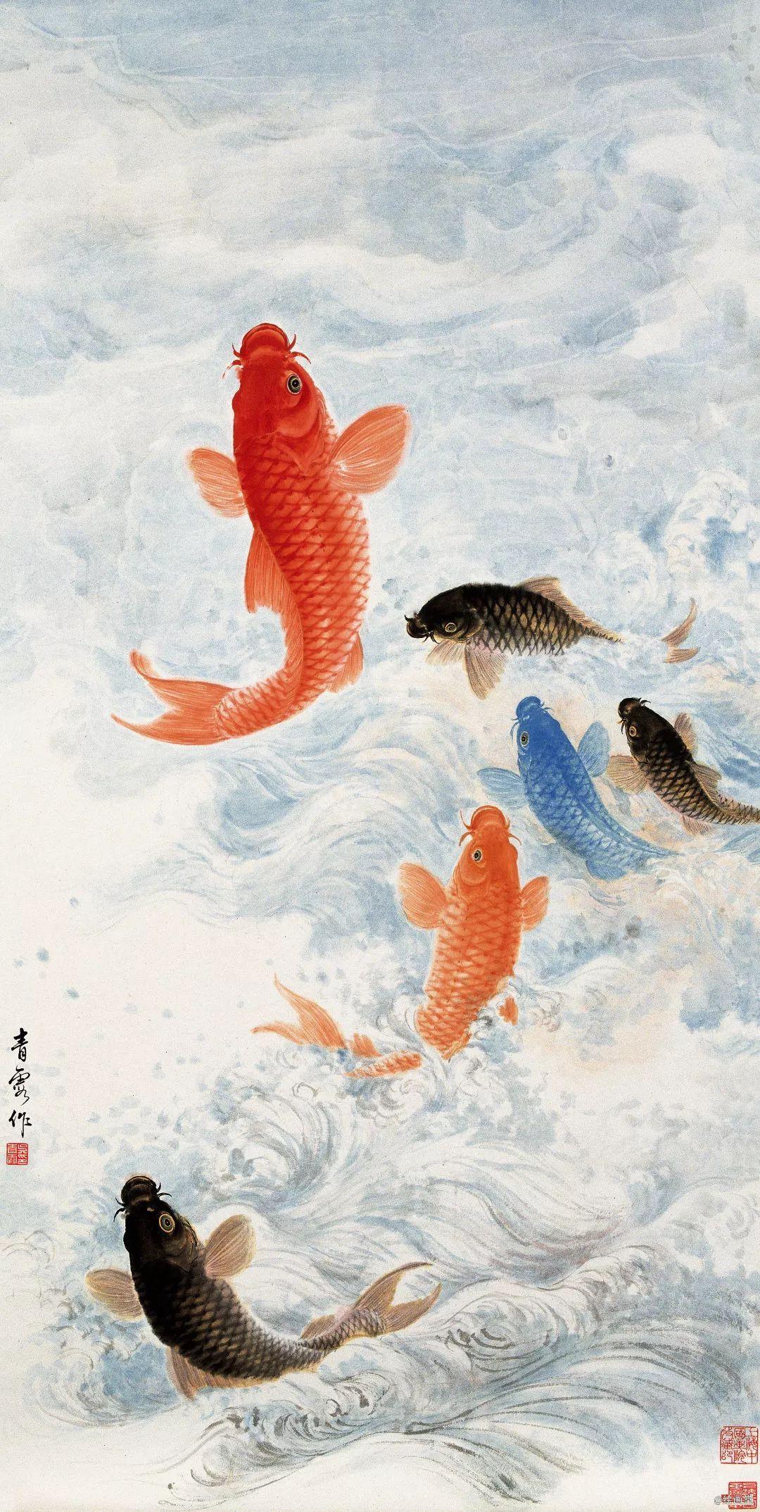 百岁女画家:用心画画,像鱼儿一样快乐生活